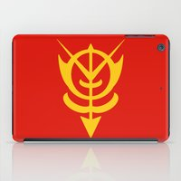 gundam iPad Cases featuring Zeon by Vipes