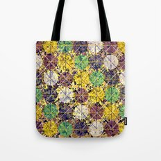 Pattern circles joined Tote Bag