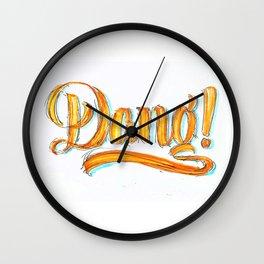 Dang! Wall Clock