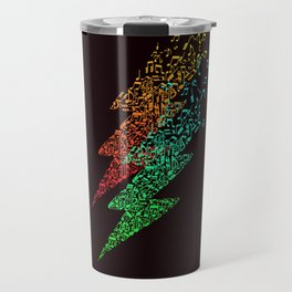 Electro music Travel Mug