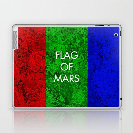 THE FLAG OF MARS Laptop & iPad Skin