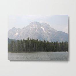 Mountains High Metal Print