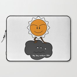 my day without you Laptop Sleeve