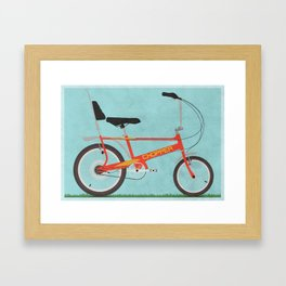 Chopper Bike Framed Art Print
