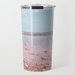 Beach landscape Travel Mug