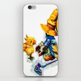 Vivi and the Chocobo Final Fantasy 9 iPhone Skin