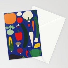 Veggie Poster Stationery Cards
