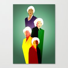 GOLDEN GIRLS  Canvas Print