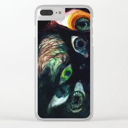 PRIDE & SECRECY Clear iPhone Case
