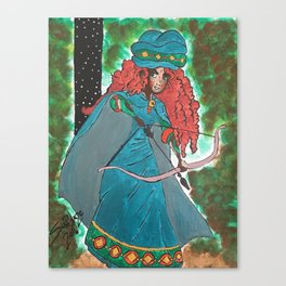 Princess Merida Canvas Print