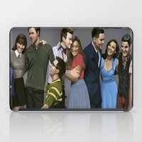 glee iPad Cases featuring Glee by weepingwillow