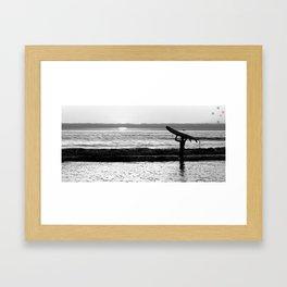 Grom Framed Art Print