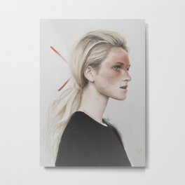 Alexa Metal Print
