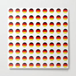 Flag of Germany 4 Metal Print