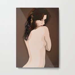 the dare of the bare Metal Print