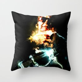 Singing for the Lonely Throw Pillow