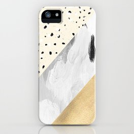 Gilt and Glamour iPhone Case