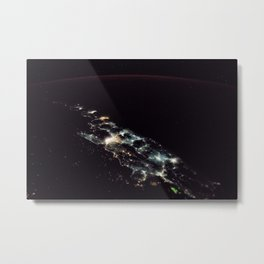 86. Lights of Java Metal Print