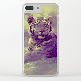 Tiger II Clear iPhone Case