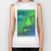 breaking bad Biker Tanks featuring Breaking Bad by Scar Design