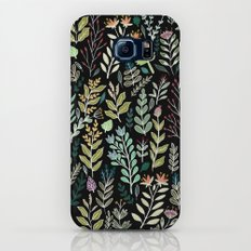 Dark Botanic Slim Case Galaxy S8