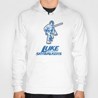 nfl Hoodies featuring Detroit Luke Skywalkers - NFL by Steven Klock