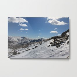 Winter in the Lake District Metal Print