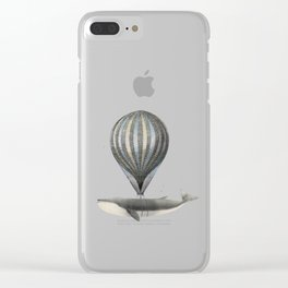 Believe In All Of Your Dreams Clear iPhone Case