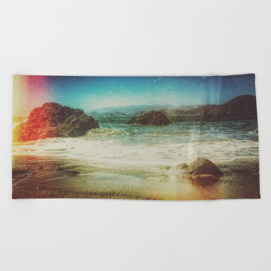 I Surrender Beach Towel