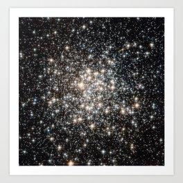 Messier 107 Art Print