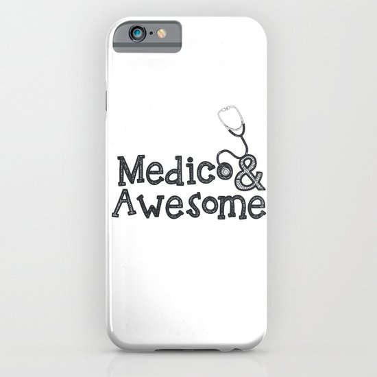 Medico & Awesome iPhone & iPod Case