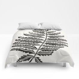 Fern Leaf – Black Palette Comforters
