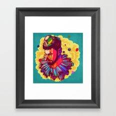 I am not a Clown Framed Art Print