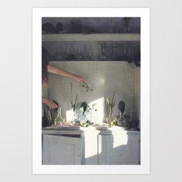 The Greenhouse Laboratory Project Art Print
