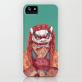 Imperial Guardian Lady iPhone Case