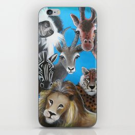 Jungle Animals iPhone Skin