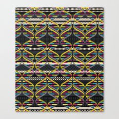 Pattern DNA Canvas Print