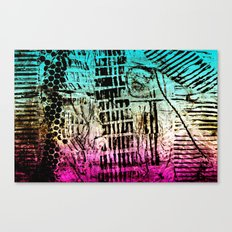 escape the manufactured Canvas Print