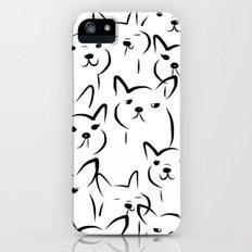 Mate,Friends,French bulldog iPhone (5, 5s) Slim Case