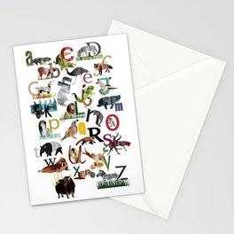 Animal ABC Stationery Cards