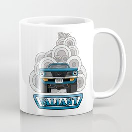 Valiant - Pop Art Coffee Mug