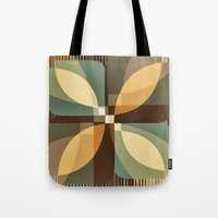 clover Tote Bags featuring clover by Julia Tomova