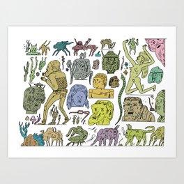 gefgefgefgefgef Art Print