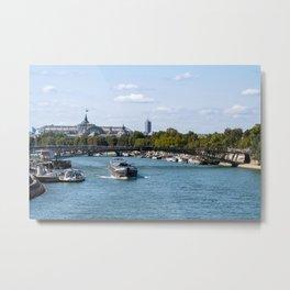 View from the Pont Royal - Paris Metal Print