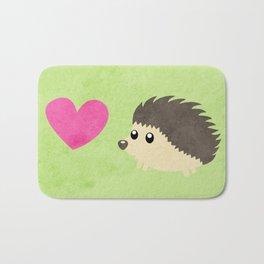 Hedgehog Love Bath Mat