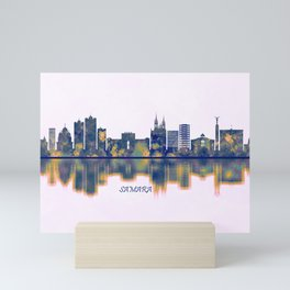 Samara Skyline Mini Art Print
