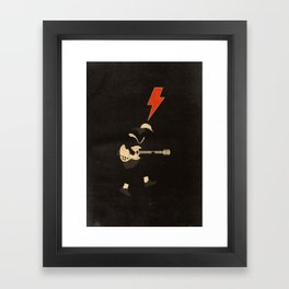 ACDC - For Those About to Rock! Framed Art Print