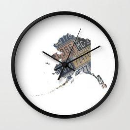 Vintage Alaska Wall Clock