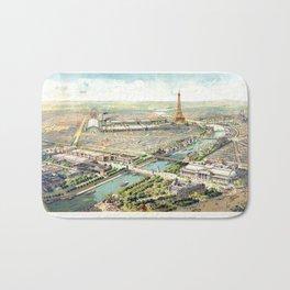 Paris World Fair 1900 Bath Mat