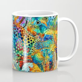Tropical Beach Art - Under The Sea - Sharon Cummings Coffee Mug